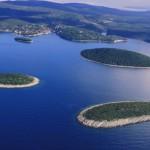 Šolta iz zraka-otočići
